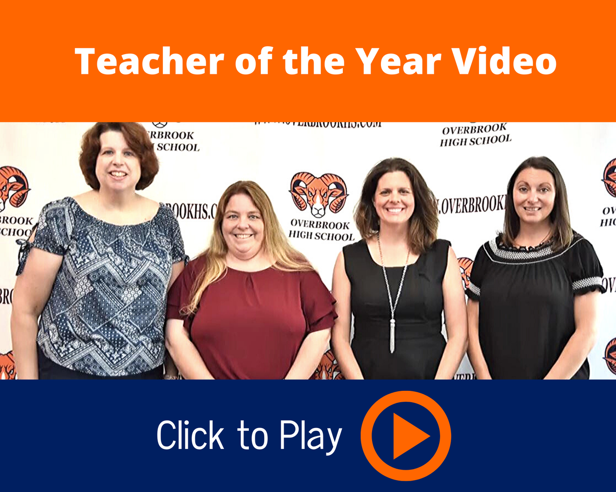 Teacher of the Year Video Image