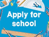 Reception Year Admissions - Apply Now