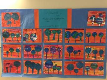 Kindergarten Artwork!