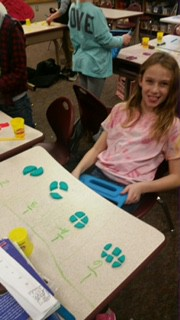Learning Fractions With Play-Doh