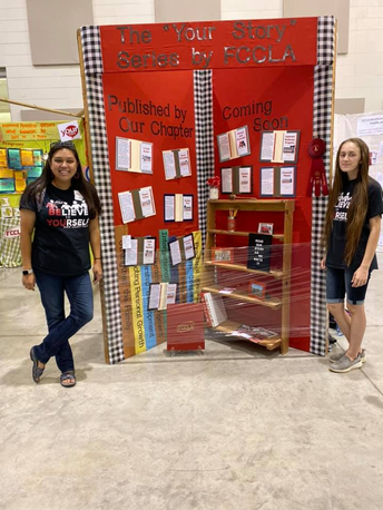 Rutland High School's FCCLA Chapter Places 2nd in the Chapter Fair Booth Display