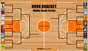 CELEBRATE READING WITH MARCH BOOK MADNESS BRACKETS AND VOTING