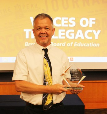 Regina Teacher John Demory Awarded with a High School Inclusive Teacher Award