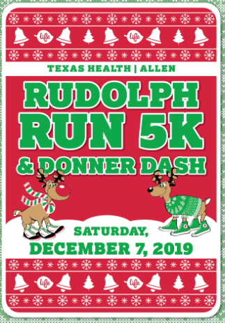 Allen ISD Rudolph Run this Saturday - December 7th!