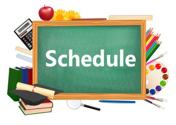 Daily Schedule (Subject to Change at the Discretion of Administration)
