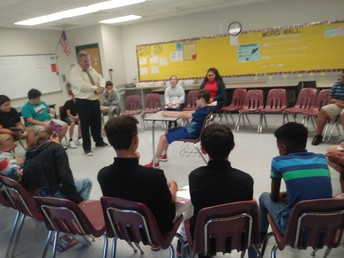 Students Participate in Circles During Lions Quest Instruction at Southern Oaks
