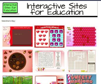 Valentine's Day Literacy Games