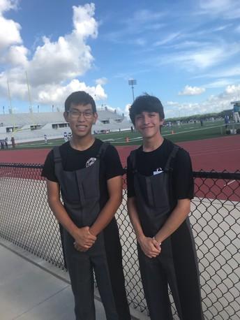 Congrats to Joshua Oh and Jacob Soto!