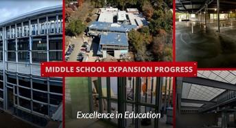 A True, 6-8 Middle School in September of 2020!