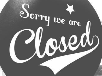 Library Holiday Closures