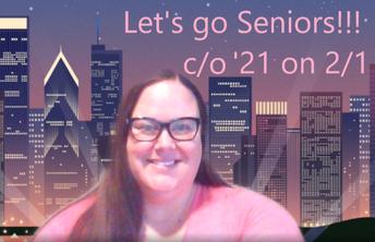 Mrs. Arionus, Senior Class Advisor!