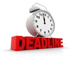 CCMR Verifier Deadline - October 1st