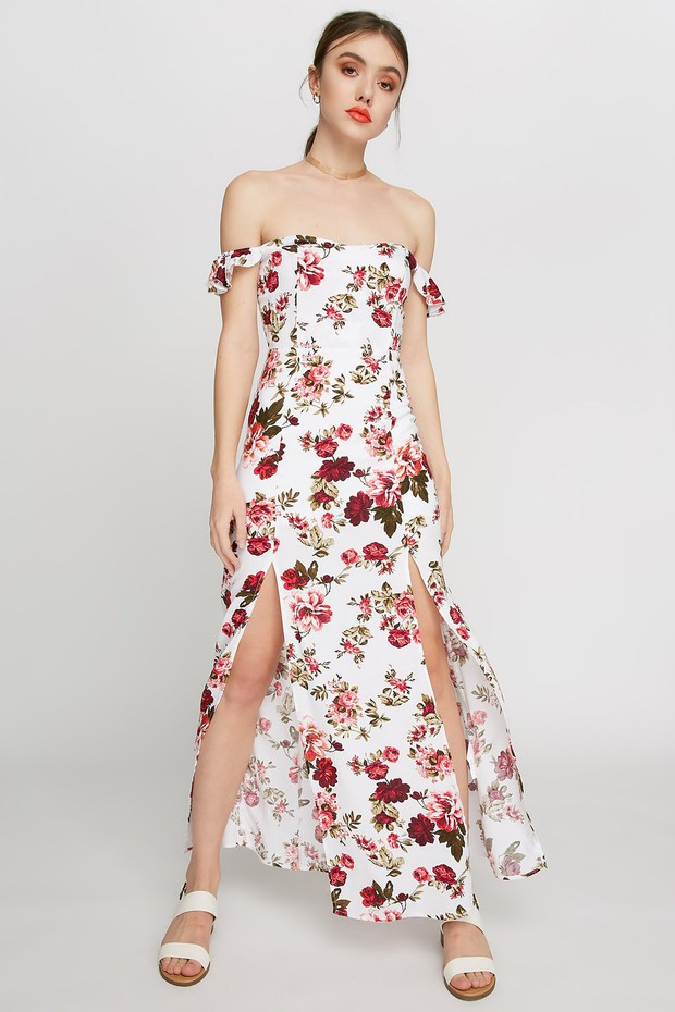 womens slit dresses