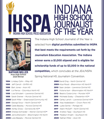 Indiana Journalist of the Year