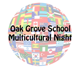 Host a Booth at Oak Grove's First Annual Multicultural Night!!