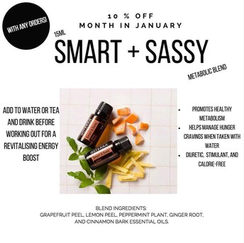 What's on sale - Slim N Sassy = Smart and Sassy for metabolism