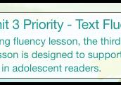 Timeless Tales Unit 3 Text Fluency