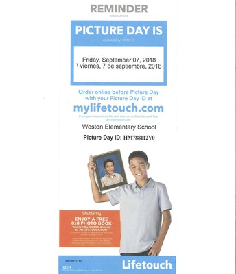 Picture Day Reminder :)