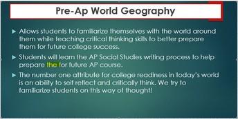 Advanced Social Studies Courses
