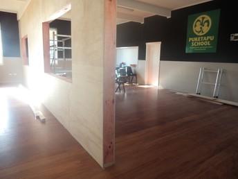 Building Works at Puketapu School