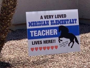 Meridian Yard Signs