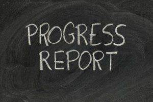 Thursday, Dec. 3rd- Progress Reports
