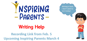 Join Inspiring Parents on the First Wednesday of the Month