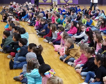 Pre-K - 4th were a great audience!