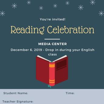 Reading Challenge Celebration