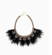 HARPER FEATHER NECKLACE