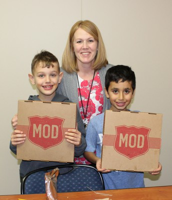 Mod Pizza with Mrs. Rush!