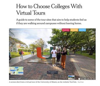 Using Virtual Tours