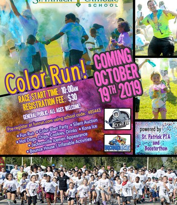 Color Run Flyer - Share This!