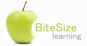 Be on the lookout for Bite Sized Learning