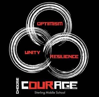 Our 20-21 CHOSEN Theme:  COURAGE