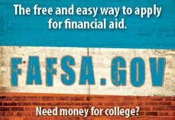 SENIORS: It's not too late to file your FAFSA!
