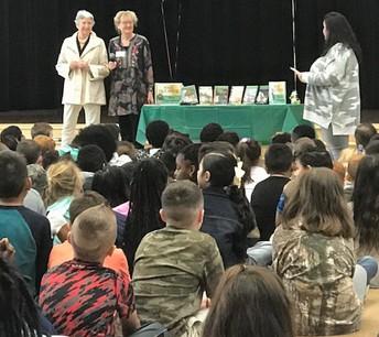 Principal Stephanie Williams Introduces Authors