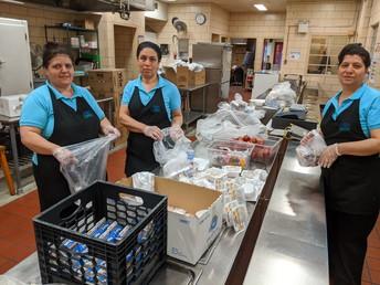 Mrs. Mamar, Mrs. Sara & Mrs. Alshamali - Food Service