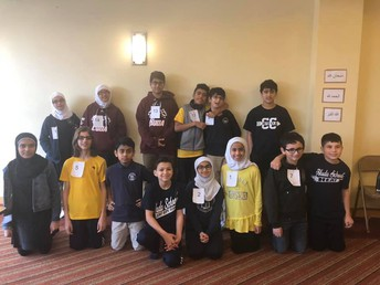 5th-8th Grade Spelling Bee Participants
