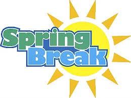 Spring Break - 3/27-4/4