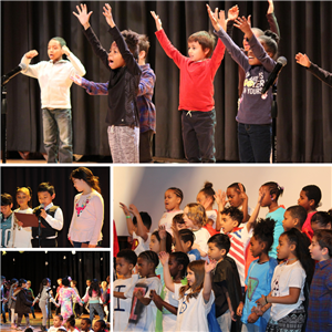 Black History Month Peace Assembly at Cheltenham Elementary