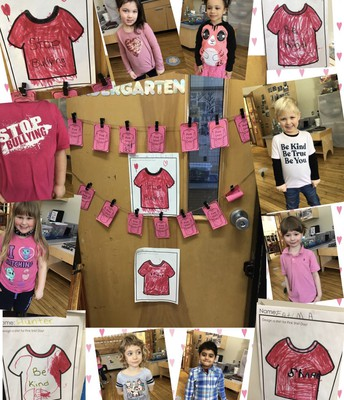 Pink Shirt Day messages from Ross Kinders!