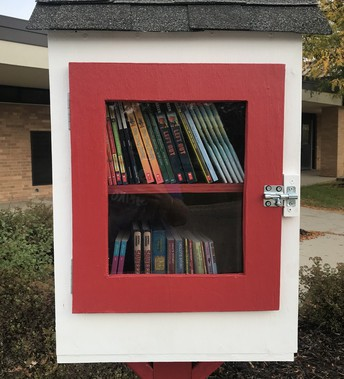 Sheiko Elementary unveils Little Free Library