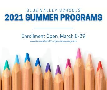 2021 Summer Learning Programs