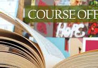 2020-2021 Course Offerings