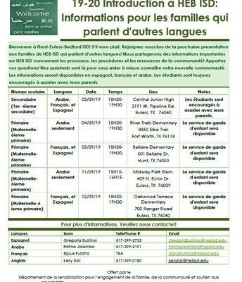 More Information in French