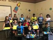 Science Fair WInners-5th grade