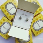 SOLD Sparkle studs £10 RRP £15