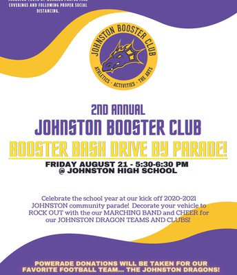 The Dragon Booster Bash is this Friday!