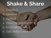 Shake and Share